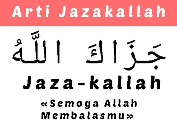 Arti Jazakallahu Khairan